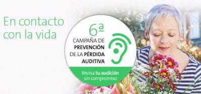 Audiocentros te pone en contacto con la vida con la 6ª Campaña de Prevención de Pérdida Auditiva