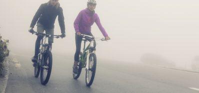 Ciclistas, Viento y pérdida de Audición