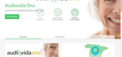Web de Audiocentro