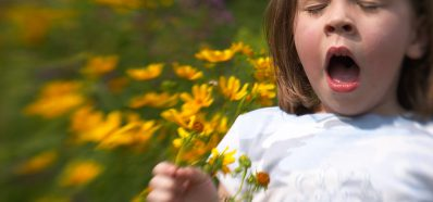 Estornudos y alergia